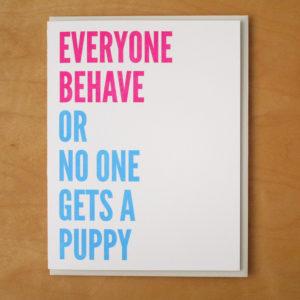 Everyone Behave