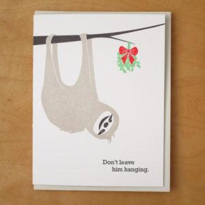 Sloth and Mistletoe