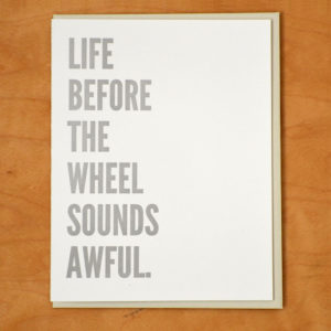 Life Before The Wheel