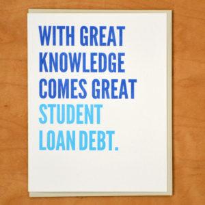 Great Student Loan Debt