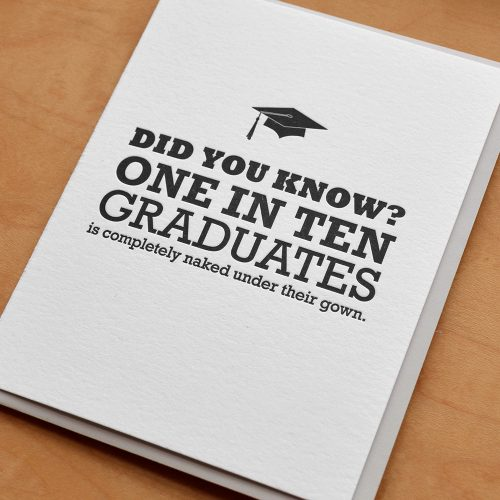 One in Ten Graduates
