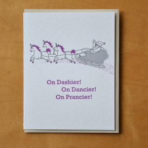 Dashier! Dancier! Prancier!