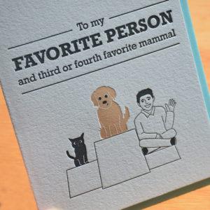 Favorite Mammal