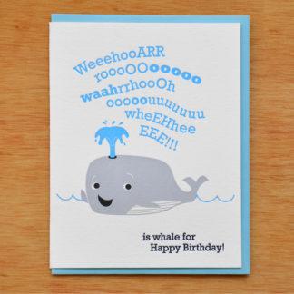 Birthday Whale