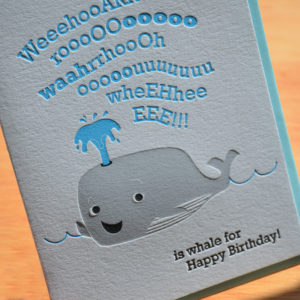 Birthday Whale