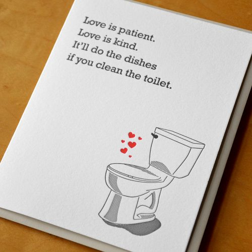 Love Will Clean the Toilet
