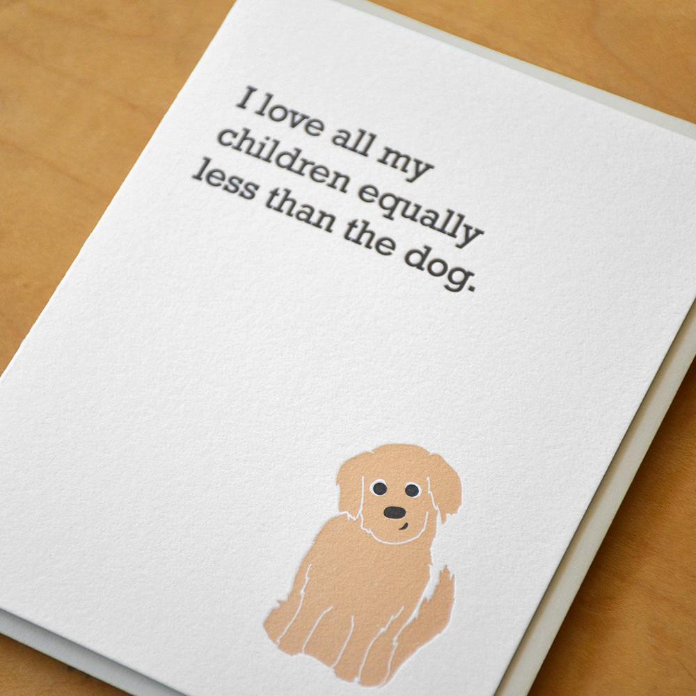 Equally Less Than The Dog
