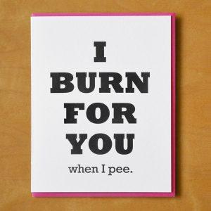 Burn When I Pee