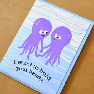 Octopi Hold Hands