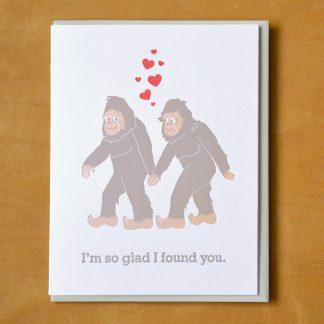 Sasquatches In Love
