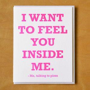 Pizza Inside Me