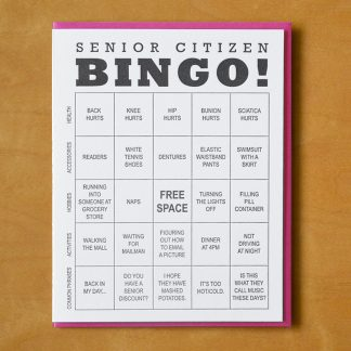 Senior Citizen Bingo