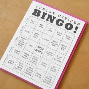 Senior Citizen Bingo